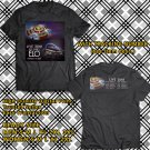 HITS JEFF LYNNE'S ELO N.AMERICA TOUR 2018 BLACK TEE'S 2SIDE MAN WOMEN ASTR 775