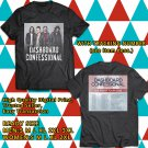 HITS DASHBOARD CONFESSIONAL WE FIGHT CANADA TOUR 2018 BLACK TEE'S 2SIDE MAN WOMEN ASTR 775