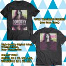 HITS DOROTHY FREEDOM TOUR 2018 BLACK TEE'S 2SIDE MAN WOMEN ASTR