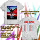 HITS ROGER WATERS US+THEM WORLD TOUR 2018 WHITE TEE'S 2SIDE MAN WOMEN ASTR