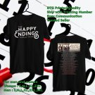 HITS OLD DOMINION THE HAPPY ENDINGS TOUR 2018 BLACK TEE'S 2SIDE MAN WOMEN ASTR