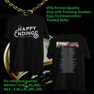 HITS OLD DOMINION THE HAPPY ENDINGS TOUR 2018 BLACK TEE'S 2SIDE MAN WOMEN ASTR 554