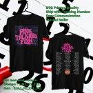 HITS PINK TALKING FISH SPRING TOUR 2018 BLACK TEE'S 2SIDE MAN WOMEN ASTR