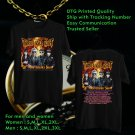 HITS MY LIFE WITH THE THRILL KILL KULT 30TH ANNIV TOUR 2018 BLACK TEE'S 2SIDE MAN WOMEN ASTR