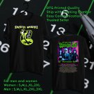 HITS MY LIFE WITH THE THRILL KILL KULT 30TH ANNIV TOUR 2018 BLACK TEE'S 2SIDE MAN WOMEN ASTR 554