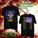 HITS ELTON JOHN FAREWELL YELLOW BRICK ROAD TOUR 2018 BLACK TEE'S 2SIDE MAN WOMEN ASTR 667
