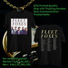 HITS FLEET FOXES USA TOUR 2018 BLACK TEE'S 2SIDE MAN WOMEN ASTR
