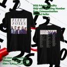 HITS FLEET FOXES USA TOUR 2018 BLACK TEE'S 2SIDE MAN WOMEN ASTR 677