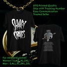 HITS SHAKEY GRAVES TOUR 2018 BLACK TEE'S 2SIDE MAN WOMEN ASTR 665