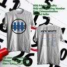 HITS JACK WHITE BOARDING HOUSE REACH TOUR 2018 WHITE TEE'S 2SIDE MAN WOMEN ASTR