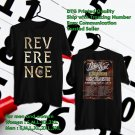 HITS PARKWAY DRIVE REVERENCE TOUR 2018 BLACK TEE'S 2SIDE MAN WOMEN ASTR 887