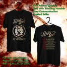 HITS PARKWAY DRIVE REVERENCE TOUR 2018 BLACK TEE'S 2SIDE MAN WOMEN ASTR 114