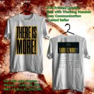 HITS HILLSONG WORSHIP&BRIAN HOUSTON:THERE IS MORE TOUR 2018 WHITE TEE'S 2SIDE MAN WOMEN ASTR