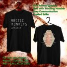 HITS ARCTIC MONKYS LIVE 2018 BLACK TEE'S 2SIDE MAN WOMEN ASTR 776