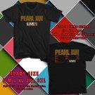 HITS PEARL JAM LIVE ON USA TOUR 2018 BLACK TEE'S 2SIDE MAN WOMEN ASTR