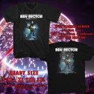 HITS BEN RECTOR THE MAGIC USA TOUR 2018 BLACK TEE'S 2SIDE MAN WOMEN ASTR