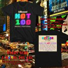 HITS BILLBOARD HOT 100 MUSIC FEST AUG 2018 BLACK TEE'S 2SIDE MAN WOMEN ASTR 776