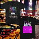 HITS HARD MUSIC FEST AUG 2018 BLACK TEE'S 2SIDE MAN WOMEN ASTR 778