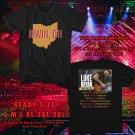 HITS IRWIN,OHIO FARM TOUR 2018 BLACK TEE'S 2SIDE MAN WOMEN ASTR