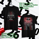 HITS HALESTORM & IN THIS MOMENT, NEW YEARS DAY TOUR 2018 BLACK TEE'S 2SIDE MAN WOMEN ASTR 554