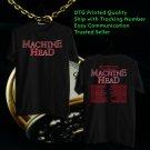 HITS MACHINE HEAD FREAKS&ZERO LEG 2 TOUR 2018 BLACK TEE'S 2SIDE MAN WOMEN ASTR