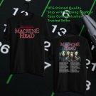 HITS MACHINE HEAD FREAKS&ZERO LEG 2 TOUR 2018 BLACK TEE'S 2SIDE MAN WOMEN ASTR 665