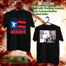 HITS STAND UP FOR HEROES 12TH ANNUAL TOUR 2018 BLACK TEE'S 2SIDE MAN WOMEN ASTR 223