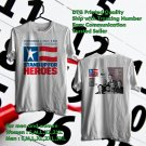 HITS STAND UP FOR HEROES 12TH ANNUAL TOUR 2018 WHITE TEE'S 2SIDE MAN WOMEN ASTR