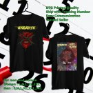 HITS UNEARTH FALL TOUR 2018 BLACK TEE'S 2SIDE MAN WOMEN ASTR
