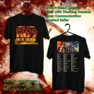 HITS KISS END OF THE ROAD FAREWELL TOUR 2019 BLACK TEE'S 2SIDE MAN WOMEN ASTR 554