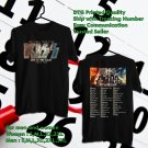 HITS KISS END OF THE ROAD FAREWELL TOUR 2019 BLACK TEE'S 2SIDE MAN WOMEN ASTR 332