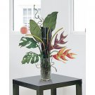 Heliconia Lobster Claw w/Bamboo in Vase