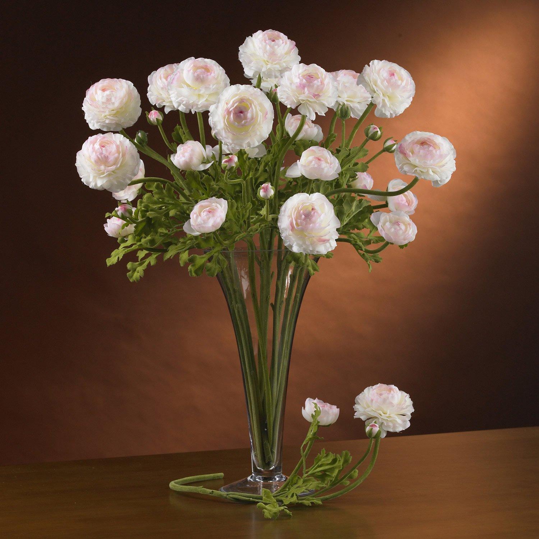 Heliconia Liquid Illusion - White & Pink