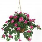 Bougainvillea Silk Hanging Basket