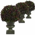 Pepper Berry Ball Topiary (Set of 3)