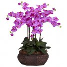 Large Phalaenopsis Silk Flower Arrangement - Orchid