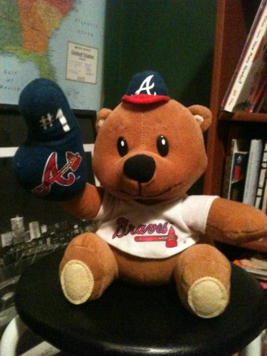 Plush Atlanta Braves Bear