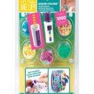 Green Style Me Up! Sequin Stacker Girls Jewelry Maker Kit RG5-MU88