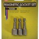 SE 3-Piece Magnetic Socket Set RD2-6-MS