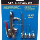 Cal-Hawk 5pc Air Tool Compressor Blow Gun Accessory Kit RD2-14-BG