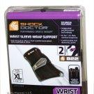 Shock Doctor Black Wrist Sleeve-Wrap Support (Left, X-Large) O7-SLL