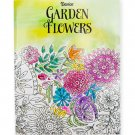 Darice Garden Flower Theme Coloring Books for Adults  RJ4-2-DAGF