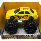 Turbo Wheels Die-Cast Monster 4x4 Truck - Yellow Dragon  B1-YWD