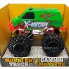 Turbo Wheels Die-Cast Monster 4x4 Van X-Motion Super Racing B1-GSR