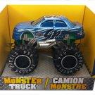 Turbo Wheels Die-Cast Monster 4x4 Truck - Blue GPixel B1-BGP