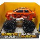 Turbo Wheels Die-Cast Monster 4x4 Truck - Orange Team Racing  B1-OTR
