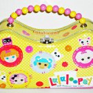 Lalaloopsy Yellow Scoop Purse Tin with Beaded Handle RK3-YSP