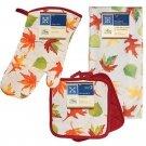 Fall Autumn Leaves Kitchen Set - (5 Items) RA3-FA119