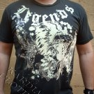 """Legends Of Style """"silver eagle"""" T-shirt + Free Ed Hardy Poster"""