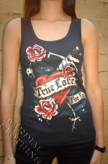 "Style B Tank-top ""True Love for You"""